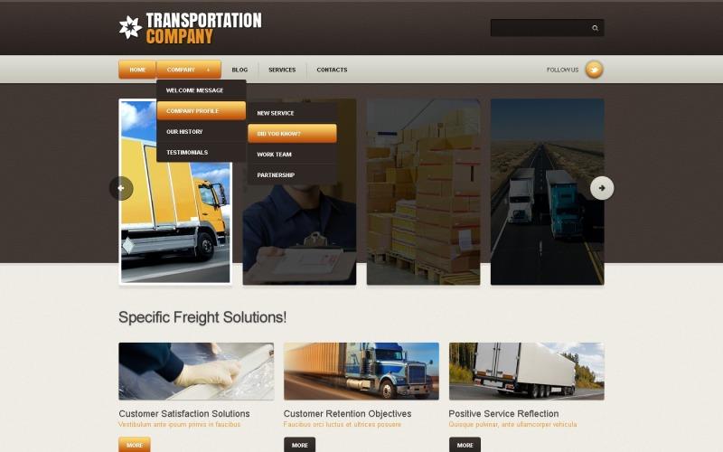 Transportation Joomla Template