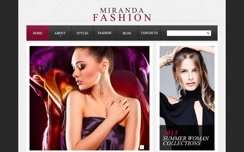 Stylish Fashion Drupal Template