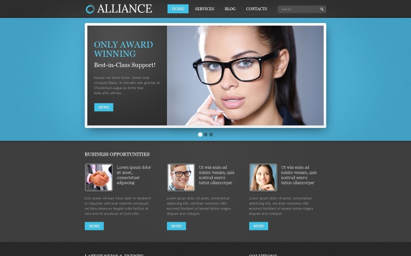 Blue Consulting Drupal Template