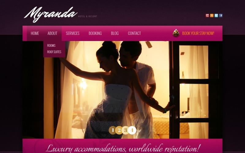 Шаблон Drupal для роскошных отелей