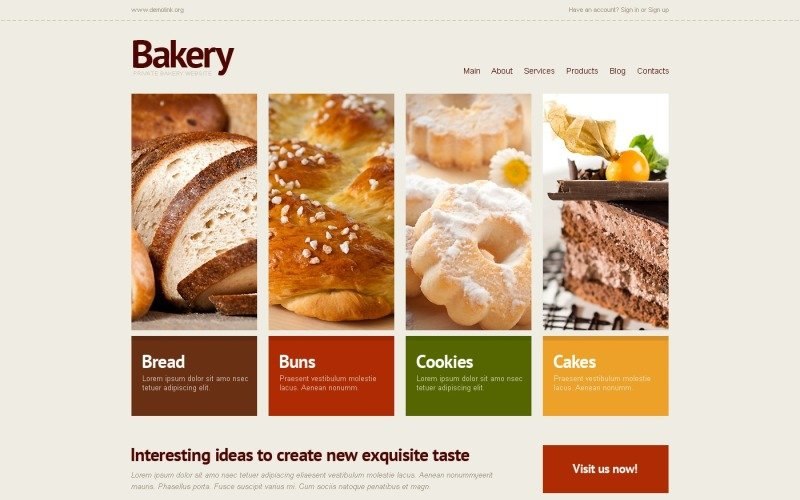 Bakery WordPress Theme