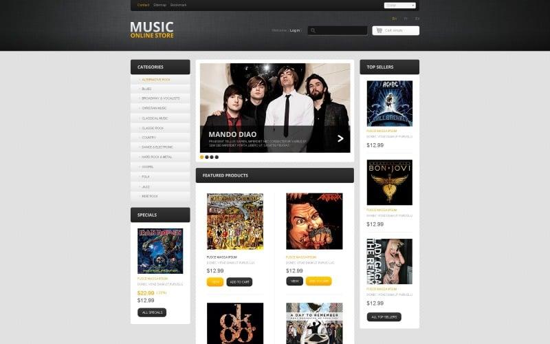 Music Online PrestaShop Theme