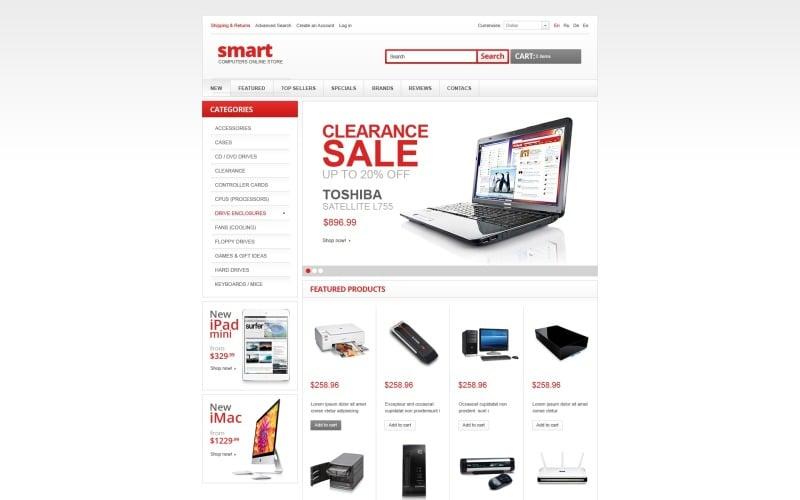 Smart Computers OsCommerce Template