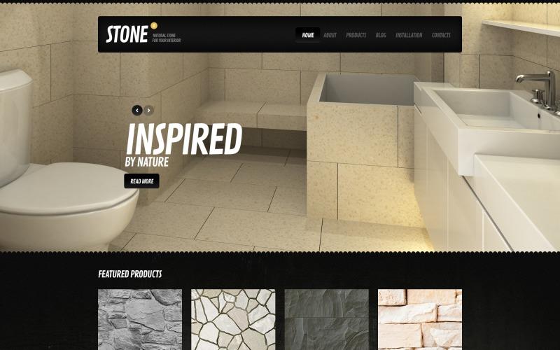 Black Interior Design Drupal Template