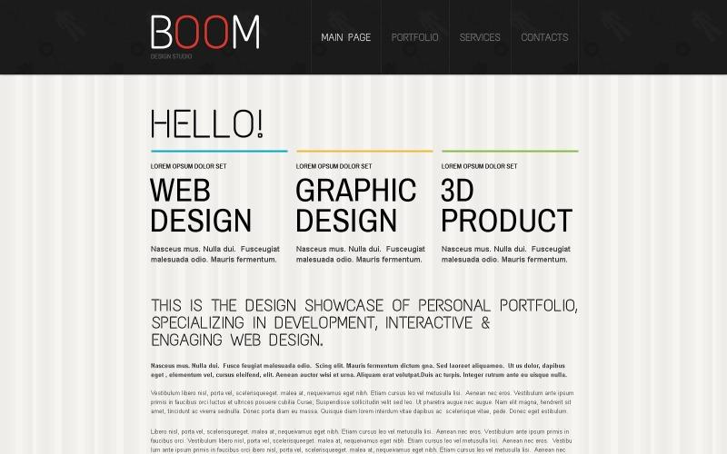 Modello Drupal di Creative Design Studio