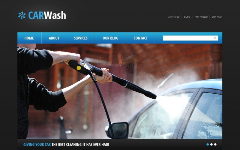 Cherry Car Wash WordPress Theme