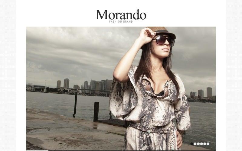 Fashion Brand  Online Joomla Template