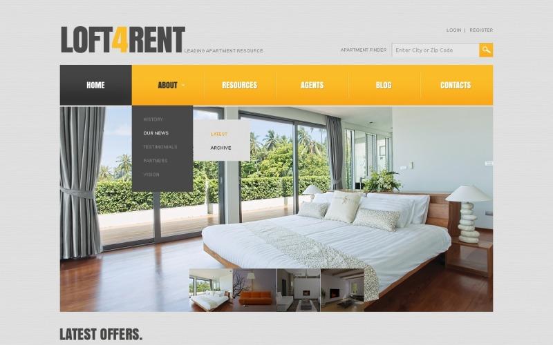 Apartment Resource Joomla Template
