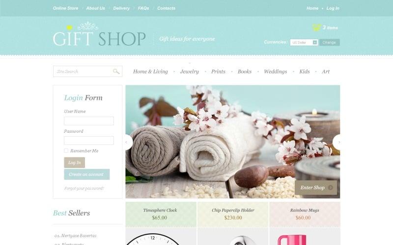Gift Shop VirtueMart Template