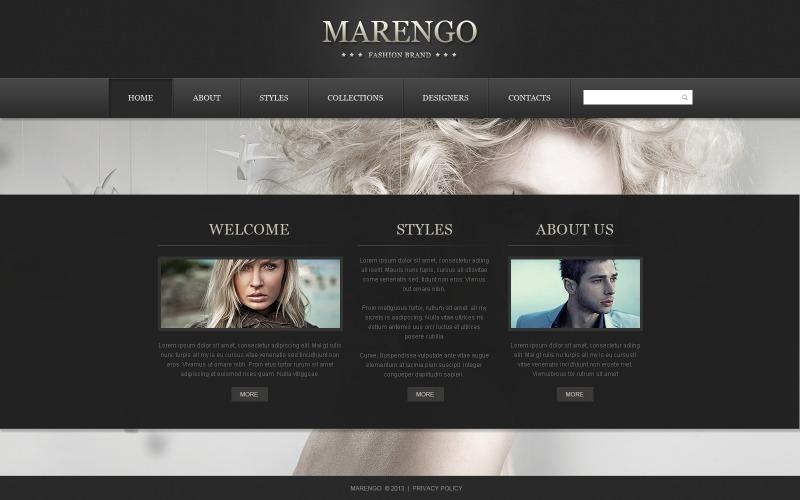 Apparel Website Template