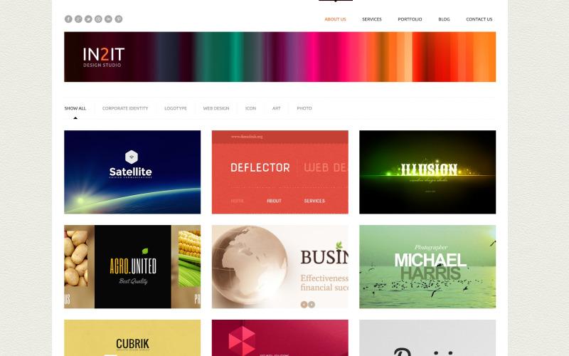 Minimalism Design Studio WordPress Theme