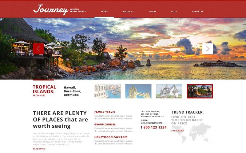 Picturesque Travel Agency WordPress Teması