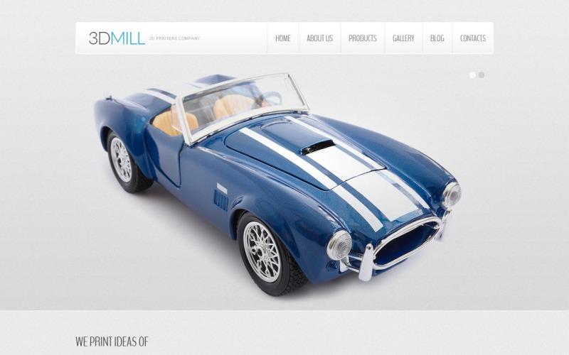 3D Printers Company Joomla Template