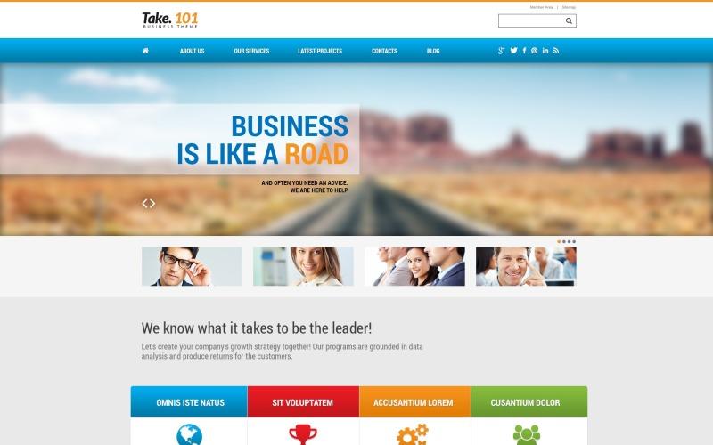 Management Company WordPress Theme