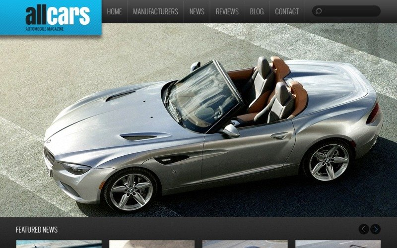 Automobile Club Drupal Template