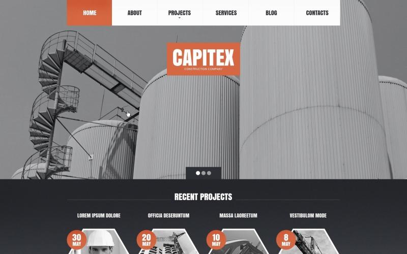 Construction Company Drupal Template