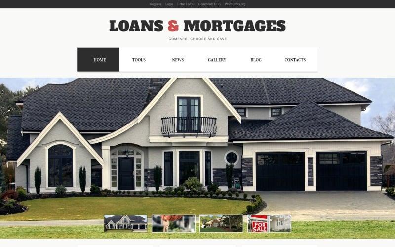 Light Mortgage WordPress Theme