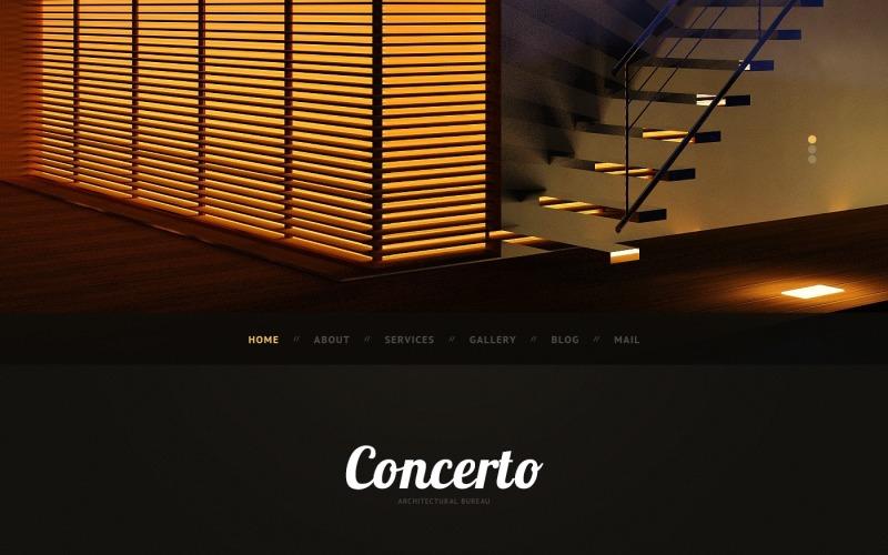 Tema de WordPress Arquitectura oscura
