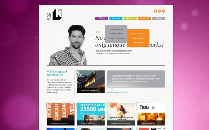 Web Design Studio Joomla Template