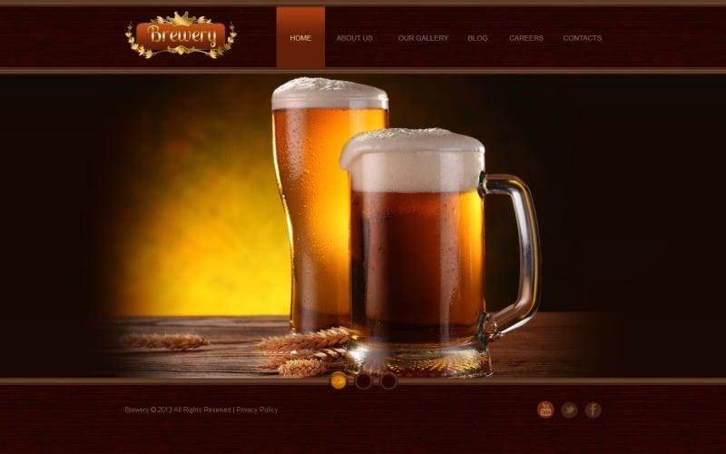 Brewing Company Joomla Template