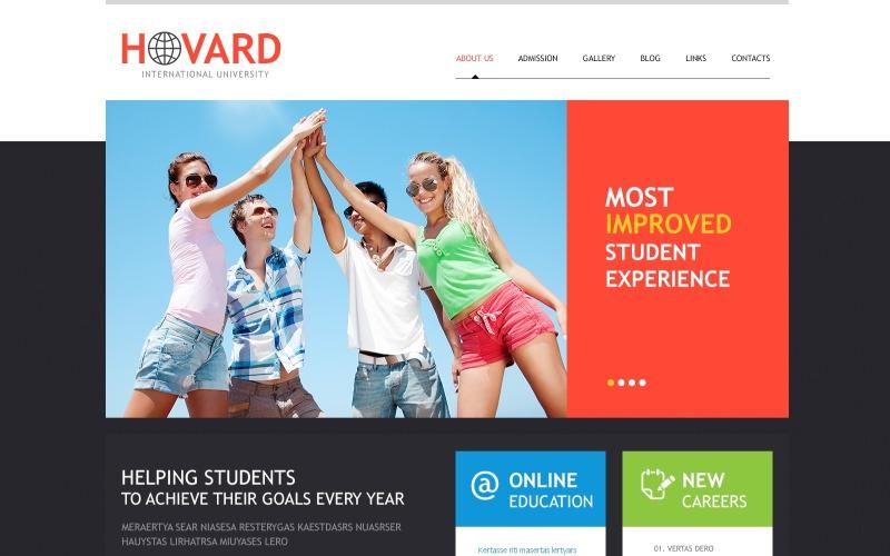 Flat University WordPress Theme