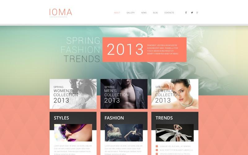Modern Fashion WordPress Theme