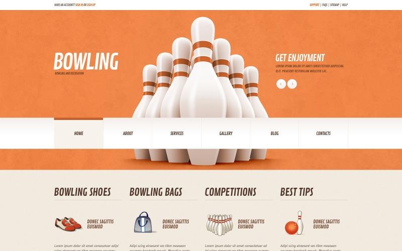 Bowling Responsive WordPress Theme