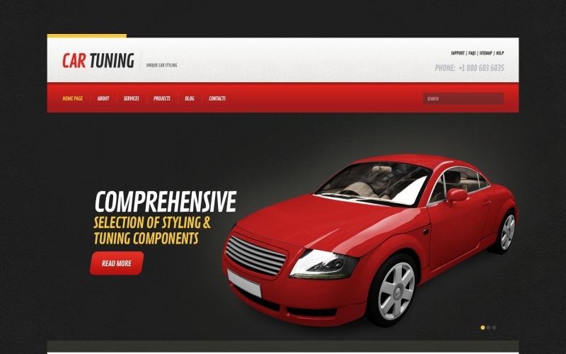 Duyarlı Araba Ayarı WordPress Teması