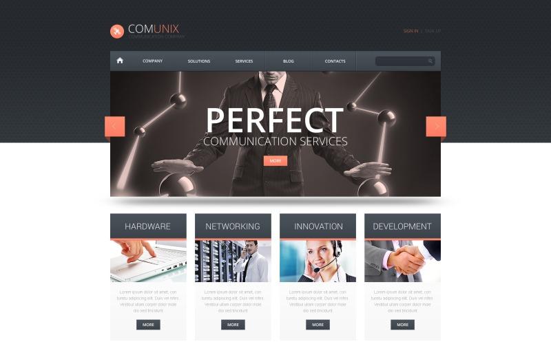 Communication Solutions WordPress Theme