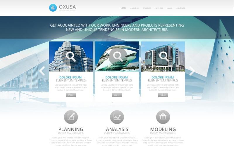 Architecture Company Drupal Template