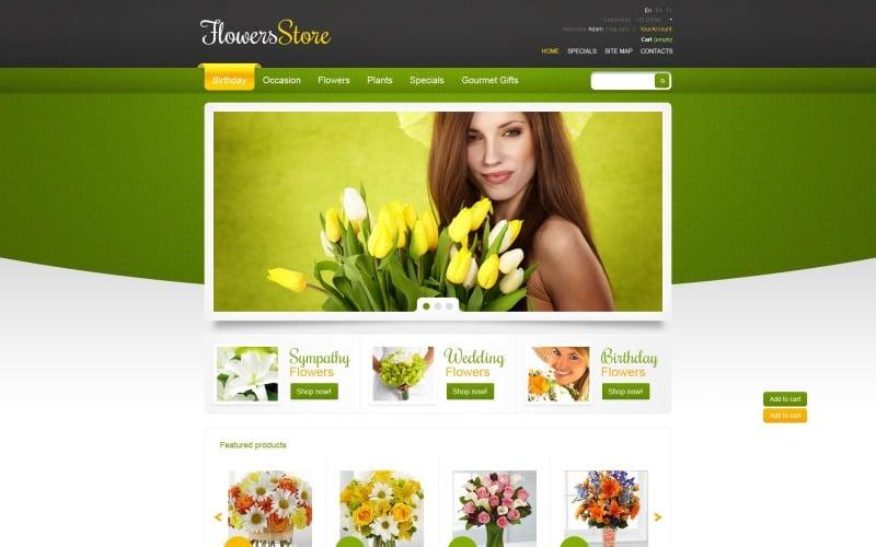 Responsive Flowers Store PrestaShop Theme