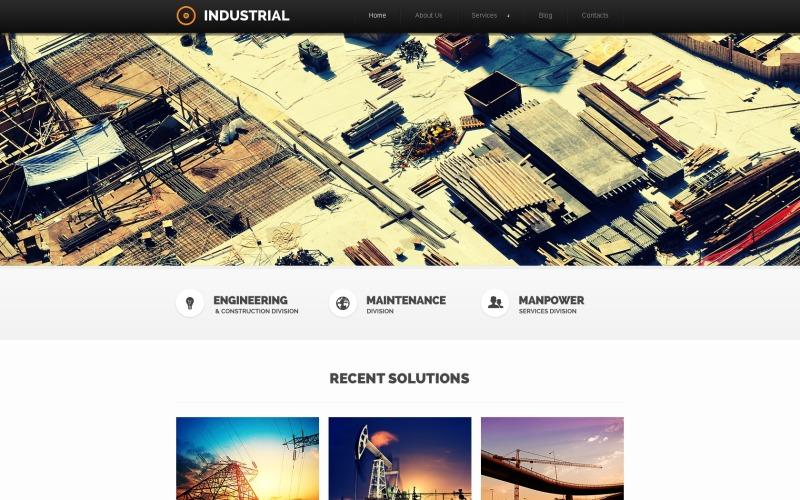 Romantic Industrial Joomla Template