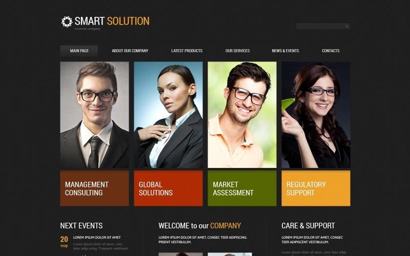 Solid Management Company Joomla Template
