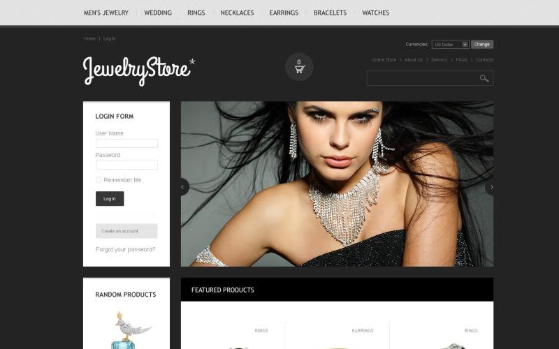 Jewelry Store VirtueMart Template
