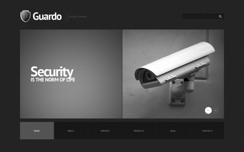 Sicherheitsorientiertes WordPress-Theme