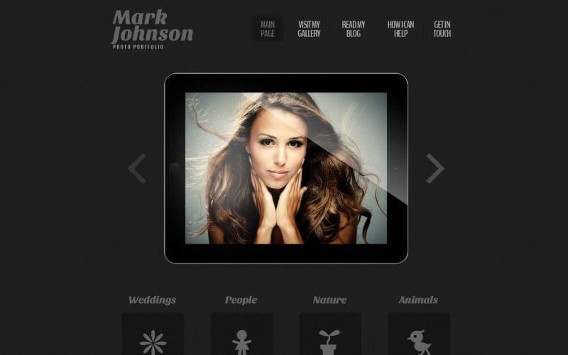 Fotografisches Portfolio Responsive WordPress Theme