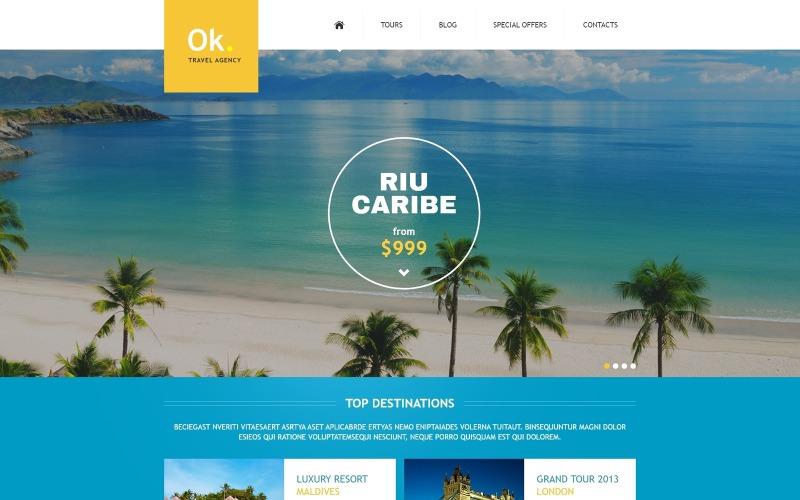 Joomla шаблон туристичної компанії