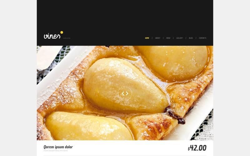 Cafe WordPress Teması
