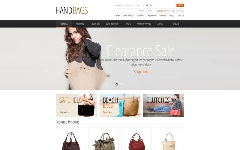Fashionable Handbags ZenCart Template