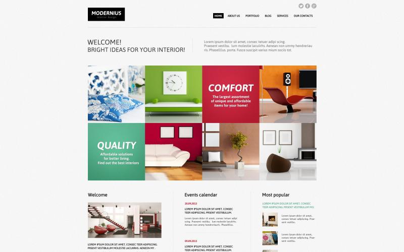 Interior Design Ideas Joomla Template
