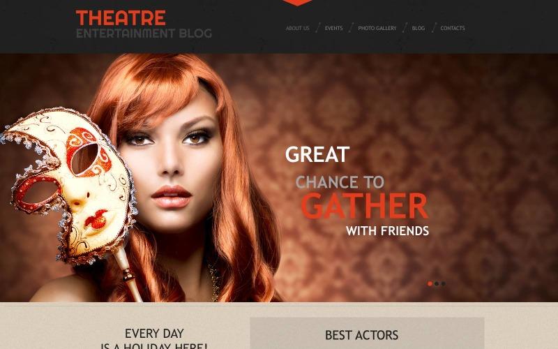 Tema WordPress reattivo per il teatro