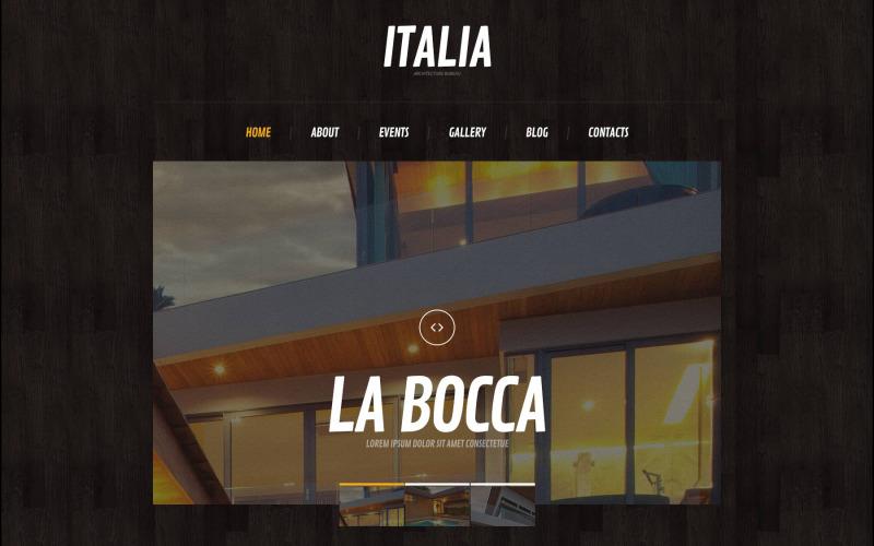 Architectural & Design Theme WordPress Theme