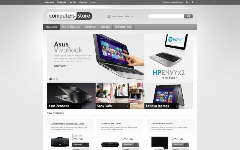Responsive Computers Store Magento Theme