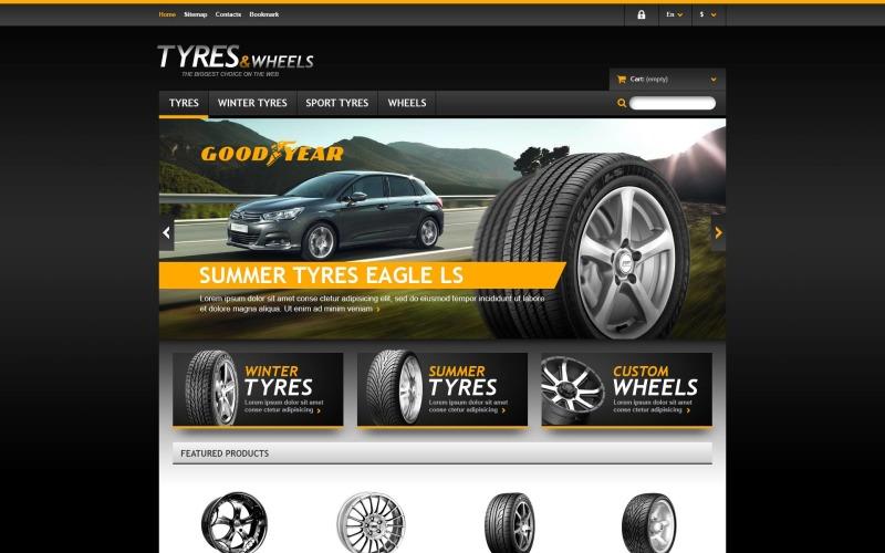 Tyres & Wheels Store PrestaShop Theme