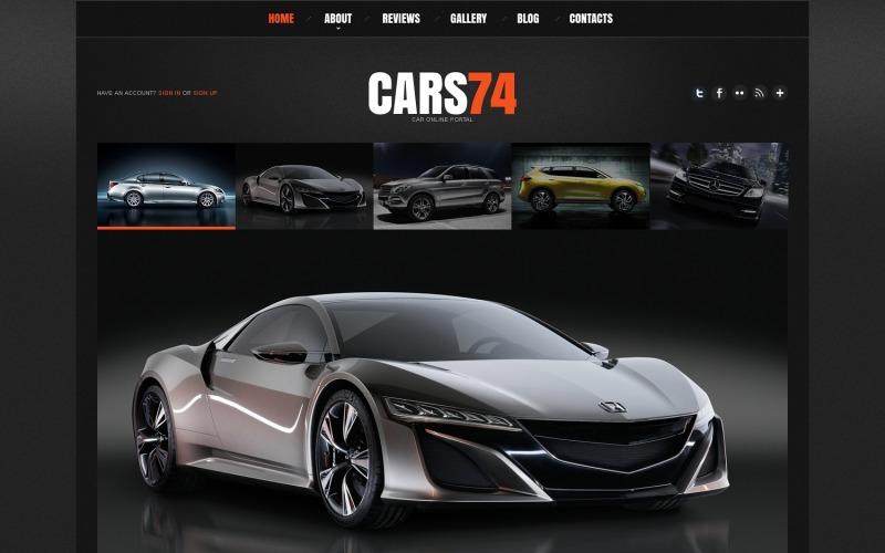 Car Portal Joomla Template