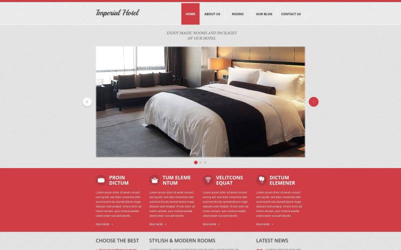 Imperial Hotel Drupal шаблон