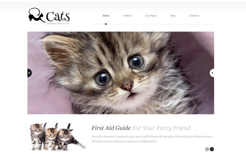 About Cats WordPress Theme