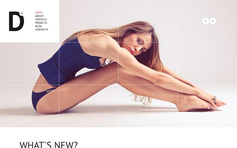 Fashion Model Agency WordPress Theme