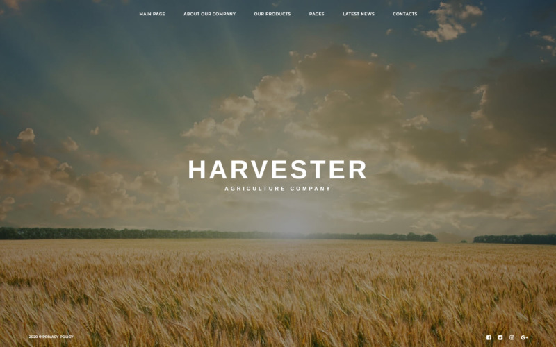 Large Picture Agriculture Joomla Template