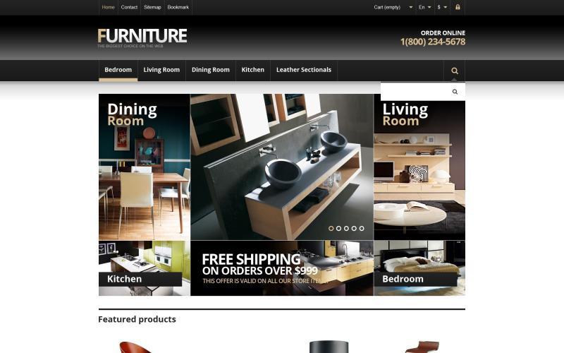 Responsive Furniture Store PrestaShop Theme